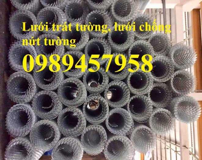 Lưới tô tường, Lưới trát tường, lưới chống nứt tường, Lưới chống thấm, Lưới trám4