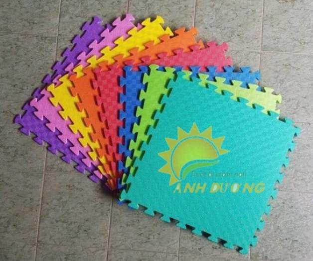 Chuyên cung cấp thảm xốp nhiều màu lót sàn cho trường mầm non, khu vui chơi, TTTM6