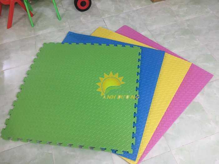 Chuyên cung cấp thảm xốp nhiều màu lót sàn cho trường mầm non, khu vui chơi, TTTM2