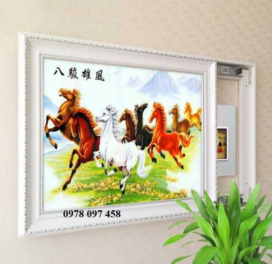 Tranh 3D - tranh gạch ngựa1