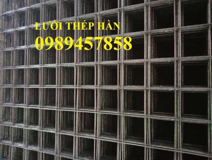 Sản xuất lưới thép hàn Phi 8 ô 200x200, A8 a 200x200, D8 a 200x200, Lưới đổ bê tông phi 85