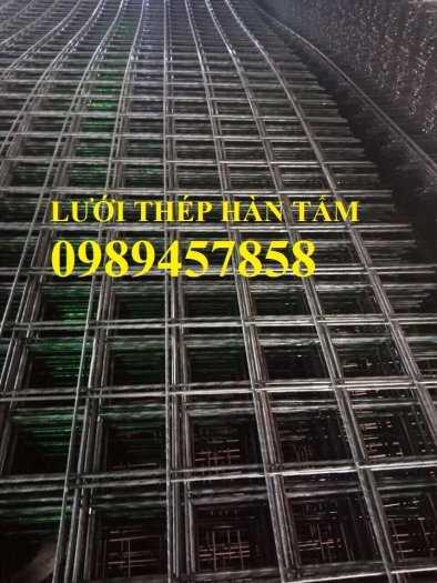 Sản xuất lưới thép hàn Phi 8 ô 200x200, A8 a 200x200, D8 a 200x200, Lưới đổ bê tông phi 86