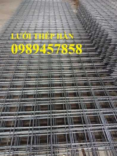 Sản xuất lưới thép hàn Phi 8 ô 200x200, A8 a 200x200, D8 a 200x200, Lưới đổ bê tông phi 87