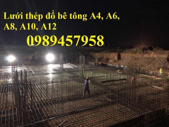 Sản xuất lưới thép hàn Phi 8 ô 200x200, A8 a 200x200, D8 a 200x200, Lưới đổ bê tông phi 84