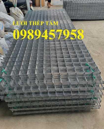 Sản xuất lưới thép hàn Phi 8 ô 200x200, A8 a 200x200, D8 a 200x200, Lưới đổ bê tông phi 81