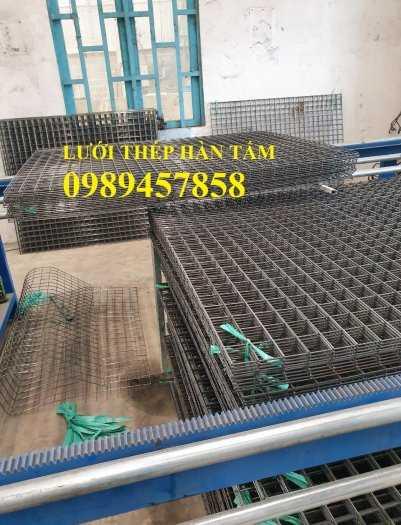 Sản xuất lưới thép hàn Phi 8 ô 200x200, A8 a 200x200, D8 a 200x200, Lưới đổ bê tông phi 80