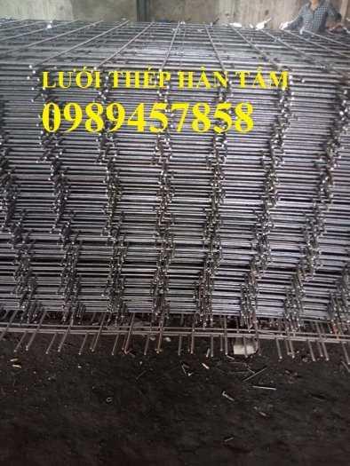 Lưới thép hàn phi 12 ô 200x200, 250x250, A12 a 200x200 Lưới thép hàn chập D125