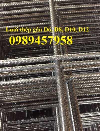 Lưới thép hàn phi 12 ô 200x200, 250x250, A12 a 200x200 Lưới thép hàn chập D124