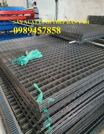 Lưới thép hàn phi 12 ô 200x200, 250x250, A12 a 200x200 Lưới thép hàn chập D121