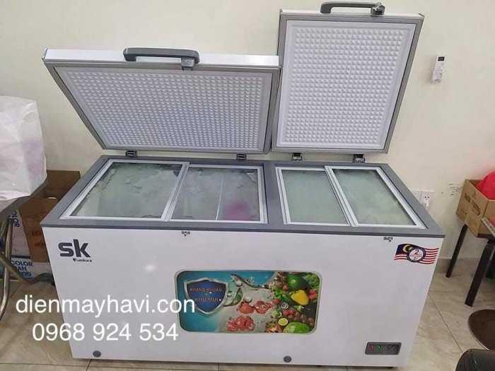 Tủ đông Inverter Sumikura 650 lít - Sumikura SKF-650SI tiết kiệm điện 4.2kwh/h22