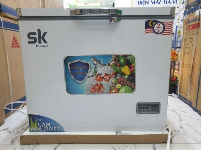 Tủ đông Inverter Sumikura 650 lít - Sumikura SKF-650SI tiết kiệm điện 4.2kwh/h20