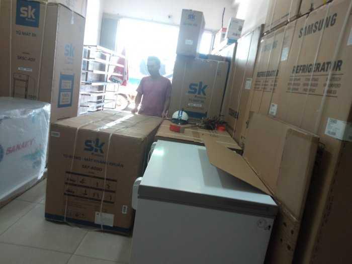Tủ đông Inverter Sumikura 650 lít - Sumikura SKF-650SI tiết kiệm điện 4.2kwh/h8