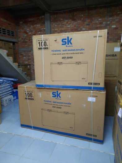 Tủ đông Inverter Sumikura 650 lít - Sumikura SKF-650SI tiết kiệm điện 4.2kwh/h