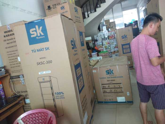 Tủ đông Inverter Sumikura 650 lít - Sumikura SKF-650SI tiết kiệm điện 4.2kwh/h7