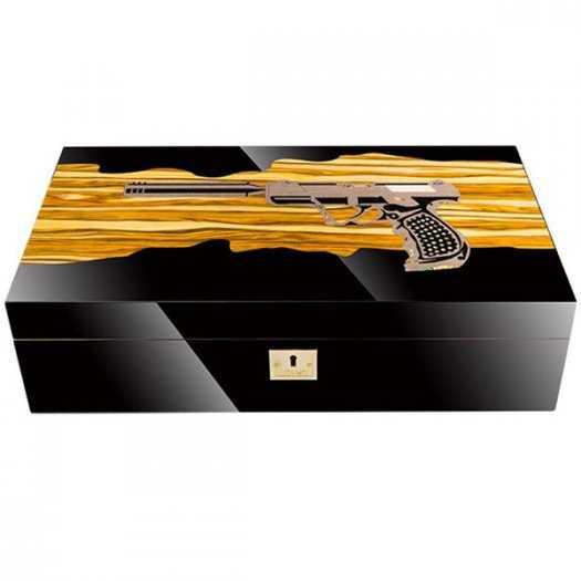 Hộp bảo quản cigar 100 điếu cao cấp chính hãng Lubinski YJA600140