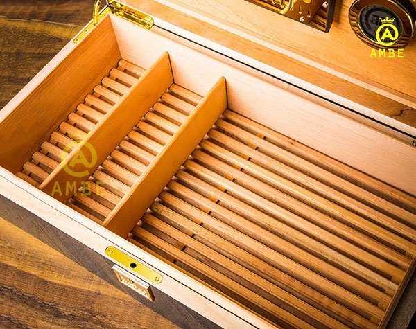 Hộp bảo quản cigar 100 điếu cao cấp chính hãng Lubinski YJA600147
