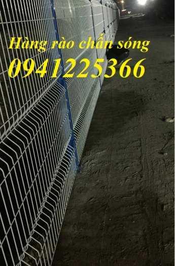 Hàng rào gập đầu mạ kẽm nhúng nóng D5a50x2007