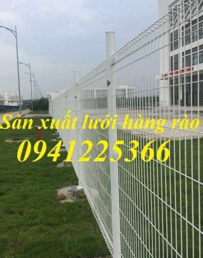 Hàng rào gập đầu mạ kẽm nhúng nóng D5a50x2003