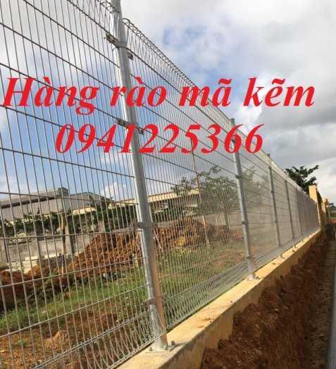 Hàng rào gập đầu mạ kẽm nhúng nóng D5a50x2002