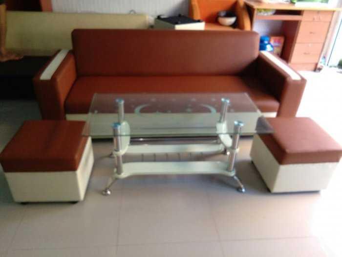 Bộ sofa màu nâu chỉ 3.500k3