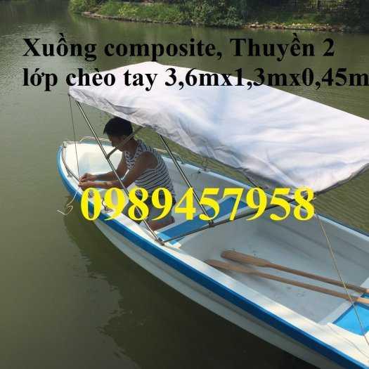 Cung cấp Thuyền Composite cao cấp, Thuyền gắn mái che, Thuyền 3m và 4,5m0