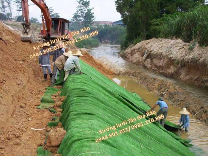 Lưới hỗ trợ chắn xỉ than, chắn núi lở, lưới chắn cát sạt lở, lưới chống cát lở trên bảo vệ mái taluy2
