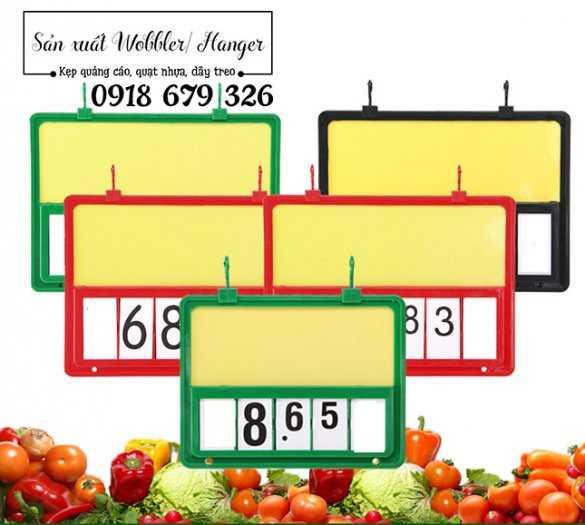 Bảng số lật, bảng giá lật, khung bảng số lật siêu thị1