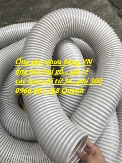 Ống ruột gà hút bụi, ống gân nhựa hút bụi mầu xám D114,D125,D150,D168,D2006
