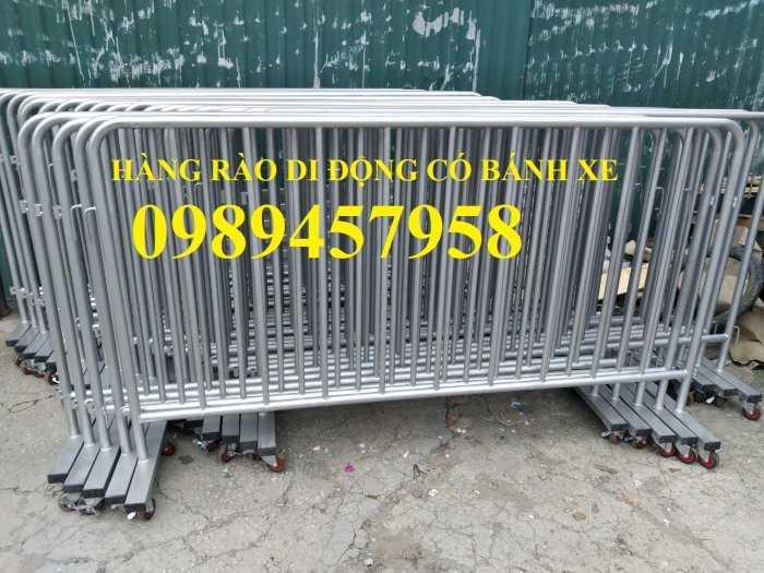 Hàng rào an ninh, hàng rào chắn tạm thời 1mx2m, 1,2mx2m, 1,5mx2,5m sẵn kho3