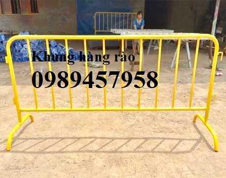 Hàng rào an ninh, hàng rào chắn tạm thời 1mx2m, 1,2mx2m, 1,5mx2,5m sẵn kho2