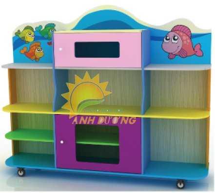 Cần bán kệ gỗ mầm non dành cho trẻ em giá rẻ, uy tín, chất lượng nhất4