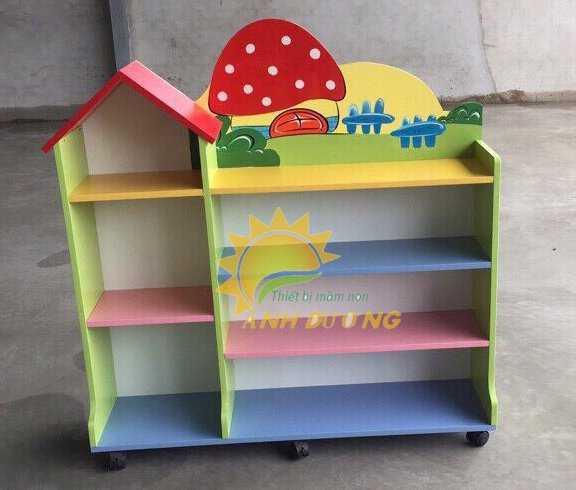 Cần bán kệ gỗ mầm non dành cho trẻ em giá rẻ, uy tín, chất lượng nhất7