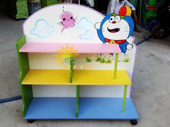 Cần bán kệ gỗ mầm non dành cho trẻ em giá rẻ, uy tín, chất lượng nhất9