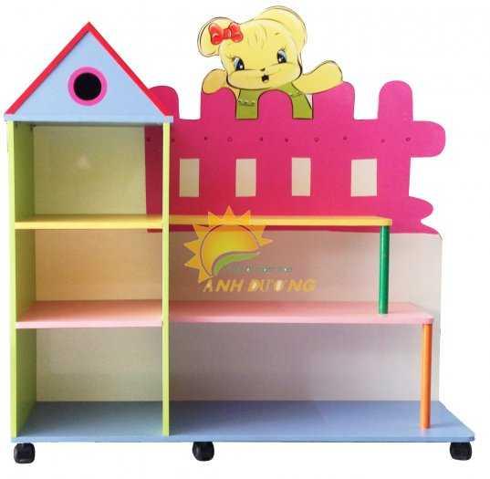 Cần bán kệ gỗ mầm non dành cho trẻ em giá rẻ, uy tín, chất lượng nhất6