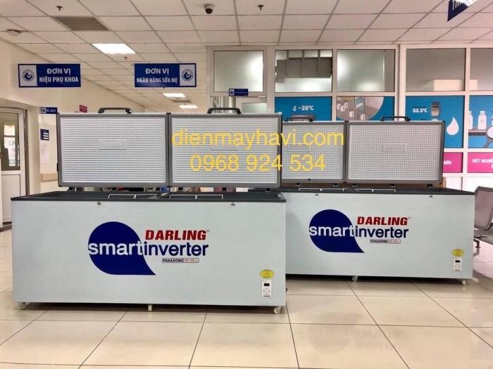 Tủ đông Darling Smart Inverter DMF-6079ASKI 520 lít đồng trữ kem6