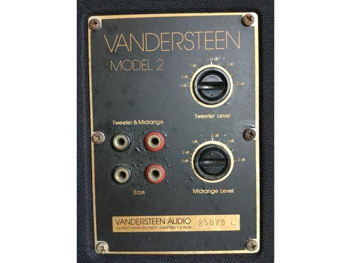 Bán Loa Vandersteen Model II3