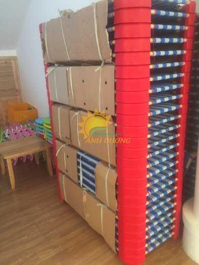 Giường lưới ngủ trưa dành cho trẻ em mầm non giá cực TỐT0