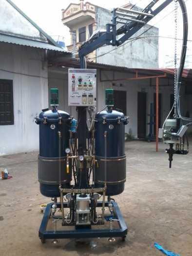Máy phun PU Foam Thành Công, Máy trộn PU cao áp/ thấp áp