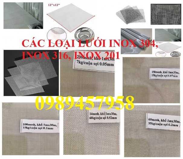 Lưới chống muỗi inox 316, Lưới inox 304 chống côn trùng, Lưới inox316, inox 210 và inox30411