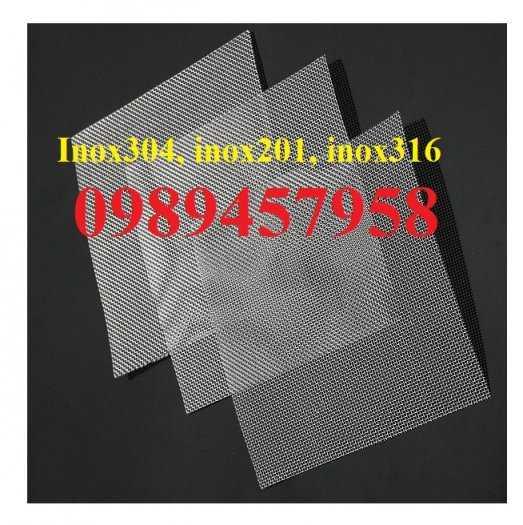 Lưới chống muỗi inox 316, Lưới inox 304 chống côn trùng, Lưới inox316, inox 210 và inox3049