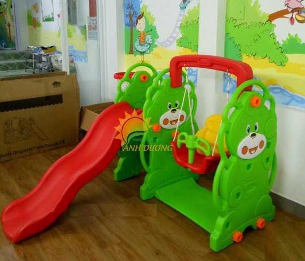 Cung cấp cầu trượt trẻ em cho trường mầm non, công viên, khu vui chơi3