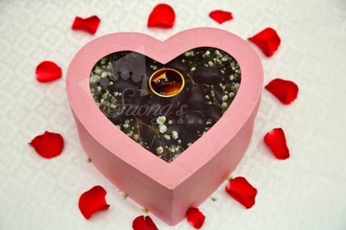 Hộp quà tặng màu nho trái cây nhập khẩu bảo vệ trái tim  0938 39 59 394