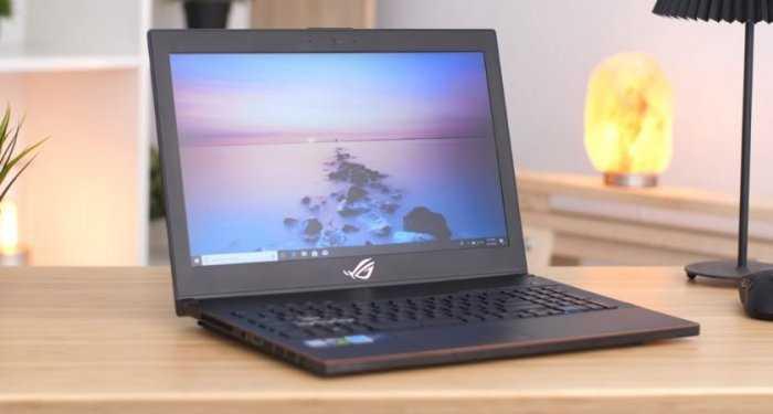 Laptop Asus Rog Zephyrus M GM501GS, i7 8750H 32G SSD512+1T GTX1070 144hz Full Box1