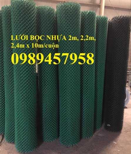 Lưới B40 thép đen, Lưới b40 mạ kẽm, Lưới B40 bọc nhựa khổ 2m, 2,2m, 2,4m4