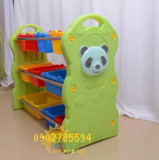 Giá nhựa đựng đồ dành cho trẻ nhỏ tiết kiệm diện tích  rẻ -đẹp - bền5