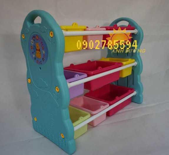 Giá nhựa đựng đồ dành cho trẻ nhỏ tiết kiệm diện tích  rẻ -đẹp - bền1