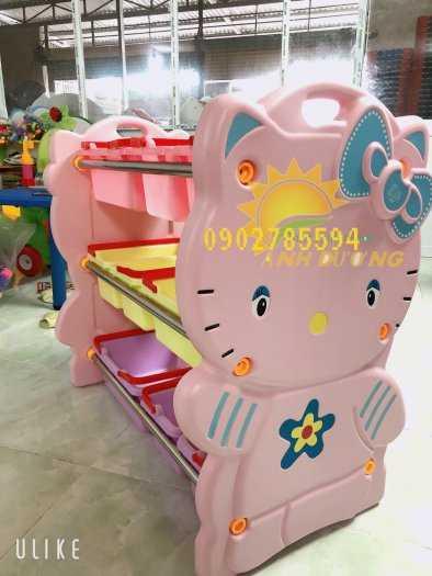 Giá nhựa đựng đồ dành cho trẻ nhỏ tiết kiệm diện tích  rẻ -đẹp - bền6