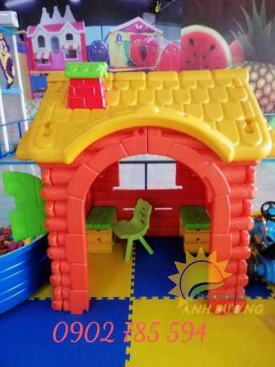 Nhà cổ tích cho bé vui chơi thỏa thích rẻ- bền- đẹp3