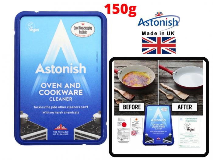 Kem Tẩy Đa Năng Tẩy Nồi, Vệ Sinh Bếp Astonish C8500