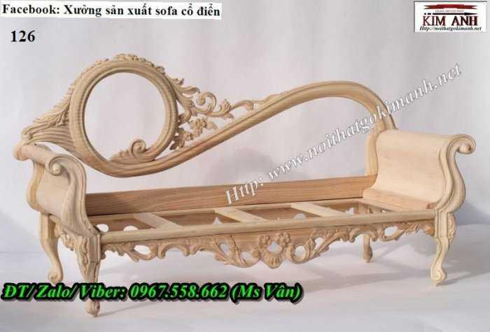 sofa gỗ tân cổ điển 3